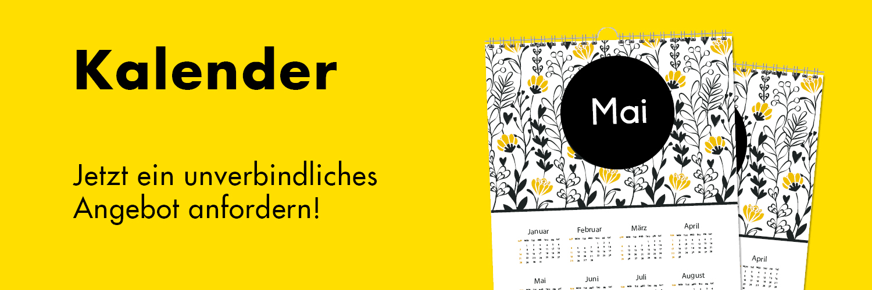 Wir drucken Deinen persönlichen Kalender!